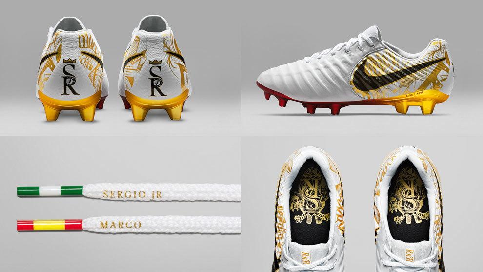 Las botas de Sergio Ramos